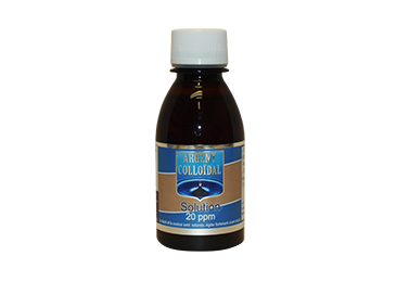 Argent Colloïdal Solution 20 ppm 150 ml - phytominero.com